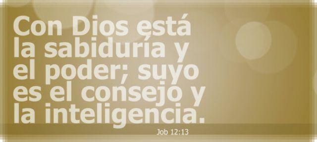 Estudio Biblico de Sedientos.Org: Sabiduria e inteligencia de Dios.