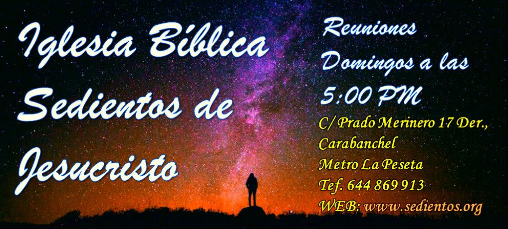 Iglesia Cristiana Sedientos de Jesucristo – Madrid